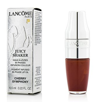 Lancome Juicy Shaker Pigment Infused Bi Phase Lip Oil - #151 Cherry Symphony  6.5ml/0.22oz