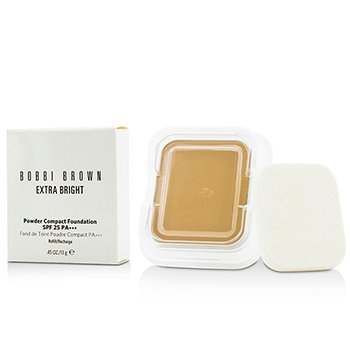 Bobbi Brown Extra Bright Powder Compact Foundation SPF 25 Refill - #2.5 Warm Sand  13g/0.45oz