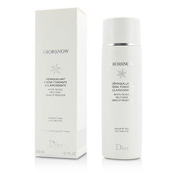 Christian Dior DiorSnow White Reveal Melt-Away Demaquillante - Para Rostro & Ojos   200ml/6.7oz