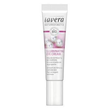 Lavera Crema Iluminadora Ojos Cafeina & Extracto de Perla Org�nico  15ml/0.5oz