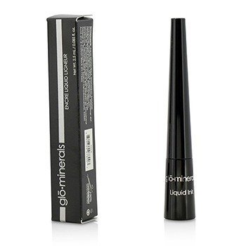 GloMinerals Liquid Ink Eyeliner - Black  2.5ml/0.085