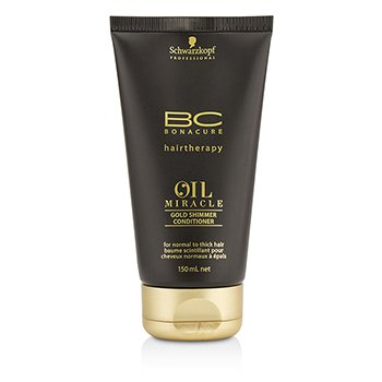 Schwarzkopf BC Oil Miracle Gold Shimmer Acondicionador(Para Cabello Normal a Grueso)  150ml/5oz