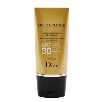 Christian Dior Dior Bronze Beautifying Protective Creme Sublime Glow SPF 30 Para Rostro  50ml/1.7oz