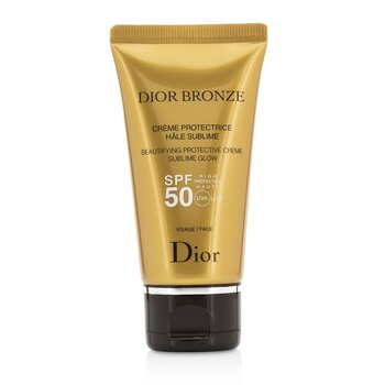 Christian Dior Dior Bronze Beautifying Protective Creme Sublime Glow SPF 50 Para Rostro  50ml/1.8oz