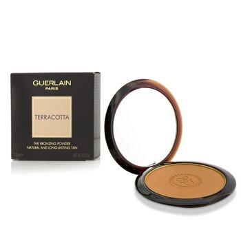 Guerlain Terracotta The Bronzing Powder (Natural & Long Lasting Tan) - No. 05 Medium Brunettes  10g/0.35oz