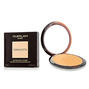 Guerlain Terracotta The Bronzing Powder (Bronceado Natural y Larga Duración) - No. 07 Deep Golden  10g/0.35oz