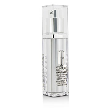 Clinique Liftingujące serum do twarzy i dekoltu Sculptwear Lift & Contour Serum For Face & Neck  30ml/1oz