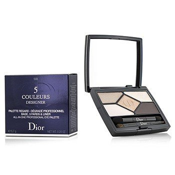 Christian Dior 5 Color Designer All In One Professional Eye Palette - No. 508 Nude Pink Design  5.7g/0.2oz