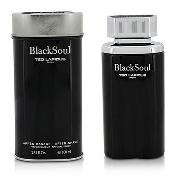 Ted Lapdius Black Soul Spray Para Después de Afeitar  100ml/3.33oz