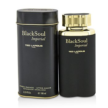 Ted Lapdius Black Soul Imperial Spray Para Después de Afeitar  100ml/3.33oz