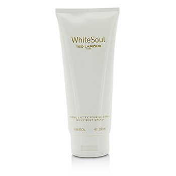 Ted Lapidus White Soul Milky Body Cream  200ml/6.66oz