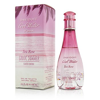 Davidoff Cool Water Sea Rose Exotic Summer Eau De Toilette Spray (Edición Limitada)  100ml/3.4oz