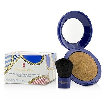 Elizabeth Arden Pure Finish Summer Escape Bronzing Powder - # 02 Deep Glow  7.5g/0.26oz