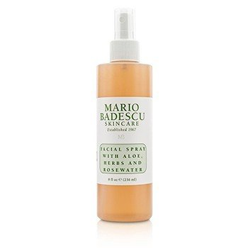 Mario Badescu Facial Spray With Aloe, Herbs & Rosewater - For All Skin Types  236ml/8oz