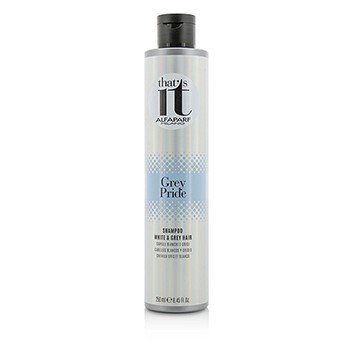 AlfaParf That's It Grey Pride Shampoo (For White & Grey Hair)  250ml/8.45oz