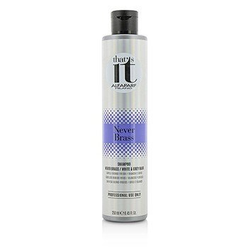 AlfaParf That's It Never Brass Champú (Para Rubios Frescos / Cabello Blanco & Gris)  250ml/8.45oz