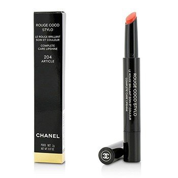 Chanel Rouge Coco Stylo Complete Care Lipshine - # 204 Article  2g/0.07oz