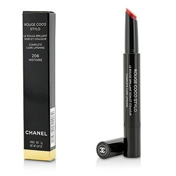 Chanel Pomadka do ust Rouge Coco Stylo Complete Care Lipshine - # 206 Histoire  2g/0.07oz