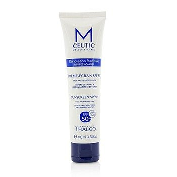 Thalgo MCEUTIC Sunscreen SPF 50+ UVA/UVB Very High Protection - Salon Size  100ml/3.38oz