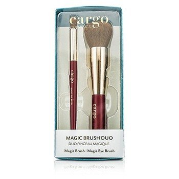 Cargo Magic Brush Набор: 1x Magic Кисть, 1x Magic Кисть для Глаз  2pcs