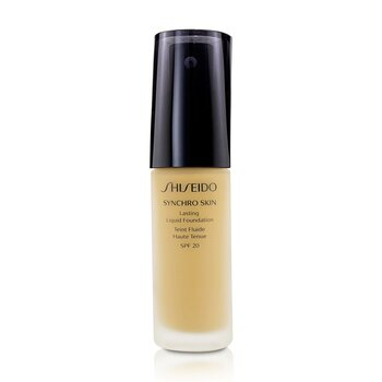 Shiseido Synchro Skin Lasting Liquid Foundation SPF 20 - Golden 4  30ml/1oz