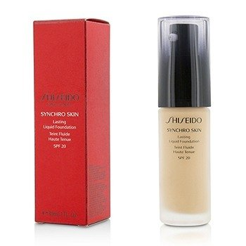 Shiseido Synchro Skin Lasting Liquid Foundation SPF 20 - Rose 3  30ml/1oz