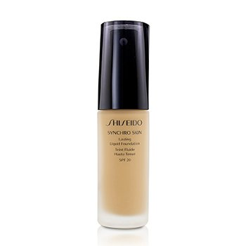 Shiseido Synchro Skin Lasting Liquid Foundation SPF 20 - Rose 4  30ml/1oz