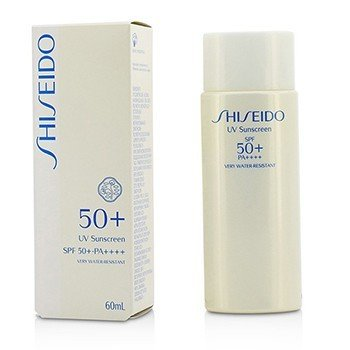 Shiseido UV Sunscreen SPF 50+ PA++++ 13097  60ml/2oz