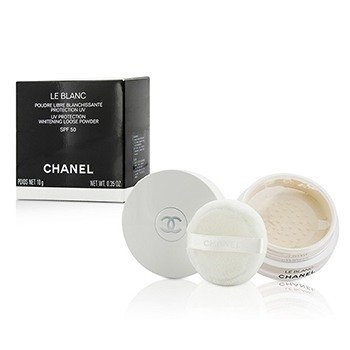 Chanel Le Blanc UV Protection Whitening Loose Powder SPF 50  10g/0.35oz