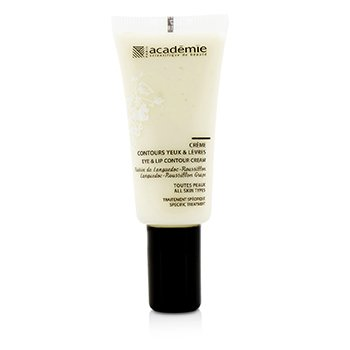 Académie Aromatherapie Eye & Lip Contour Cream - For All Skin Types  15ml/0.5oz