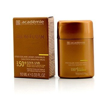 Academie Bronzecran Sun Stick Sensitive Areas SPF 50+ - For Sensitive & Highly Exposed Areas  10ml/0.33oz