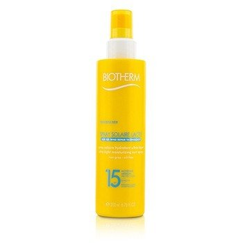 Biotherm Spray do opalania Spray Solaire Lacte Ultra-Light Moisturizing Sun Spray SPF 15  200ml/6.76oz
