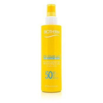 Biotherm Spray do opalania Spray Solaire Lacte Light Moisturizing Sun Spray SPF 50  200ml/6.76oz