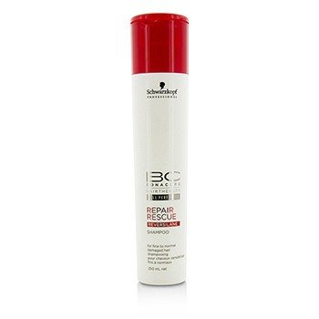 Schwarzkopf BC Repair Rescue Reversilane Shampoo (For Fine to Normal Damaged Hair)  250ml/8.4oz