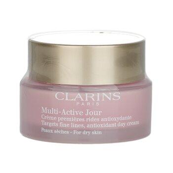 Clarins Multi-Active Day Se Enfoca en Líneas Finas Crema de Día Antioxidante - Para Piel Seca  50ml/1.6oz