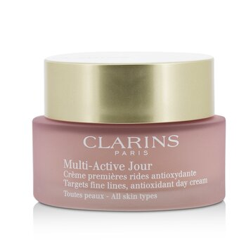Clarins Multi-Active Day Targets Fine Lines Antioxidant Day Cream - For All Skin Types  50ml/1.6oz