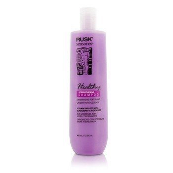 Rusk Sensories Healthy Blackberry & Bergamot Strengthening Shampoo (ny pakning)  400ml/13.5oz