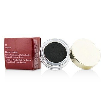 Clarins Ombre Matte Eyeshadow - #07 Carbon  7g/0.2oz