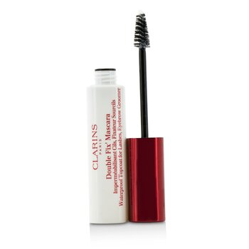 Clarins Double Fix Mascara (Waterproof Topcoat For Lashes, Eyebrow Groomer)  7ml/0.2oz
