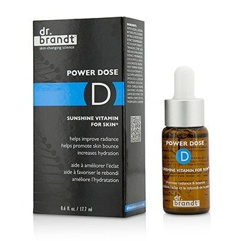 Dr. Brandt Power Dose D Sunshine Vitamin For Skin  17.7ml/0.6oz