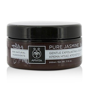 Apivita Pure Jasmine Gentle Exfoliating Cream  200ml/7.13oz