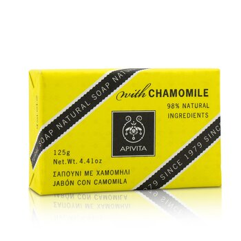 Apivita Natural Soap With Chamomile  125g/4.41oz