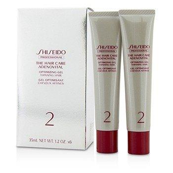 Shiseido The Hair Care Adenovital Optimizing Gel (Thinning Hair)  6x35ml/1.2oz