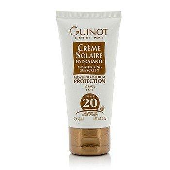 Guinot Creme Solaire Hydratante Protector Solar Hidratante Para Rostro SPF20  50ml/1.7oz