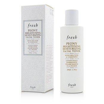 Fresh Peony Brightening Moisturizing Facial Toner  200ml/6.7oz