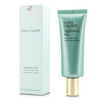 Estee Lauder NightWear Plus Mascarilla Desintoxicante de 3-Minutos  75ml/2.5oz