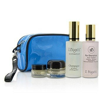 Z. Bigatti  Prelude Starter Kit: Gel Cleanser 59ml + Silk Toner 60ml + Impact 14g + Eye Return 7g  4pcs+1bag