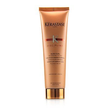 Kerastase Discipline Oleo-Curl Definition and Suppleness Creme (For Unruly Curly Hair)  150ml/5.1oz