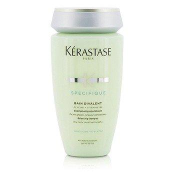 เคเรสตาส Specifique Bain Divalent Balancing Shampoo (Oily Roots, Sensitised Lengths)  250ml/8.5oz