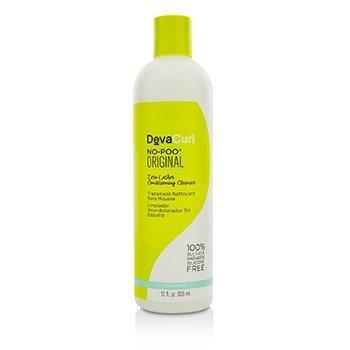 DevaCurl No-Poo Original (Zero Lather Limpiador Acondicionante - Para Cabello Rizado)  355ml/12oz